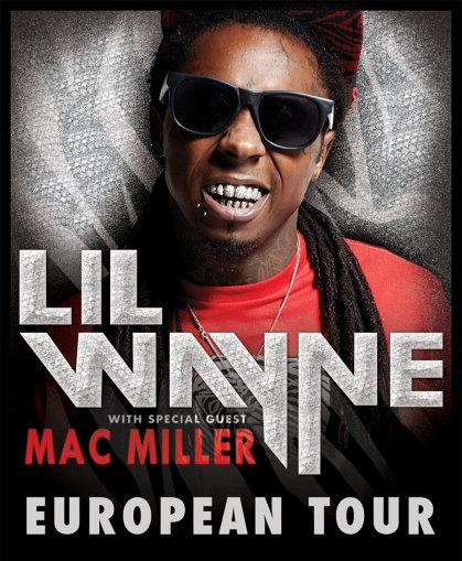 Lil' Wayne et Mac Miller à Amnéville 2013