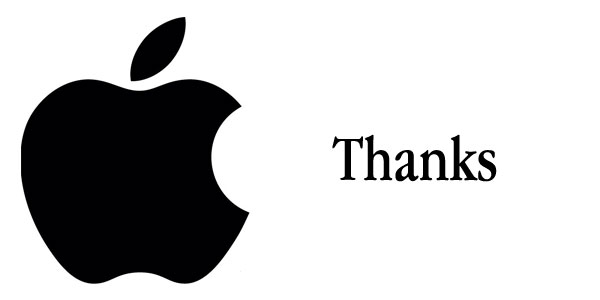 apple thanks steve jobs